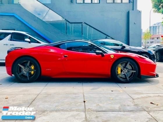 2011 FERRARI 458 ITALIA 4.5 V8 FROM NAZA ITALIA