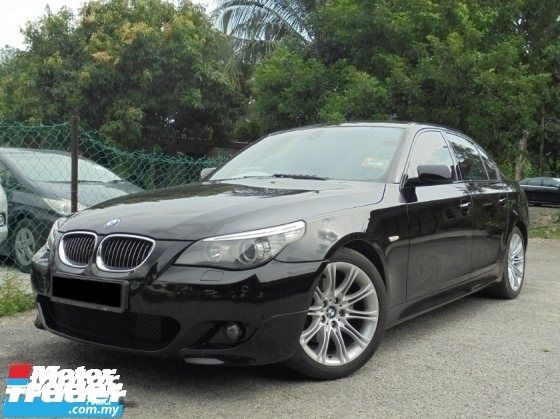 2008 BMW 5 SERIES 523i 2.5 E60 LCi M-Sport TipTOP NAVI LikeNEW Reg.2012
