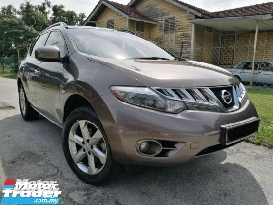 2011 NISSAN MURANO 2011 Nissan MURANO 2.5 3.5 (A) BOSE SPEAKER