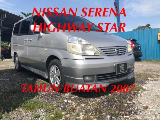 2007 NISSAN SERENA 2.0L HIGHWAY STAR