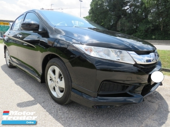 2017 HONDA CITY 1.5E (A) One Lady Owner Full Service Record 100% Accident Free Original Bodykit High Loan Very Nice Car Tip Top Condition Must View