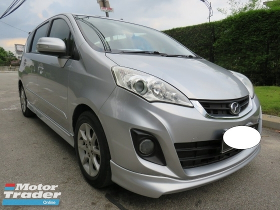 2017 PERODUA ALZA 1.5 (A) Full AV Bodykit Low Mileage 43KM Only Tip Top Like New Car Condition