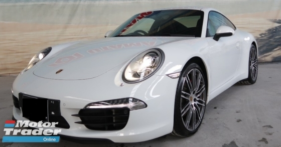 2014 PORSCHE 911 3.8L CARRERA S 991 Coupe Unreg