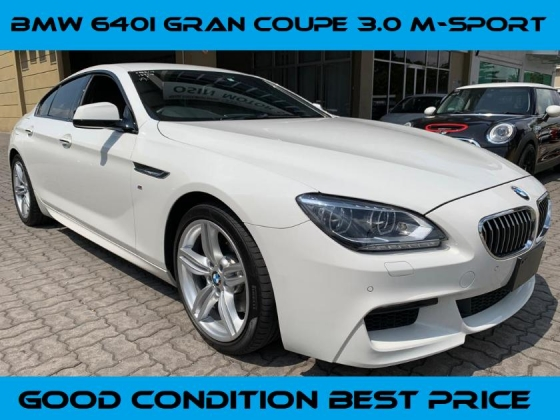 2014 BMW 640i Gran Coupe