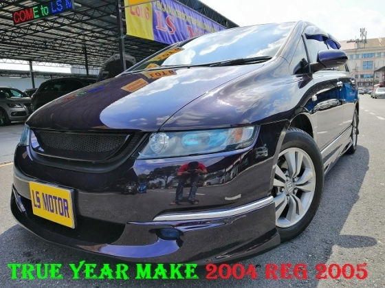 2004 HONDA ODYSSEY ABSOLUTE LIMITED - IMPORT NEW HONDA MALAYSIA - FULL NAPPA LEATHER -SUNROOF - 7SEATER - 4 NEW MICHELIN TYRE - REVERSE CAMERA- AUTO CRUISE - LOAN AVAILABLE