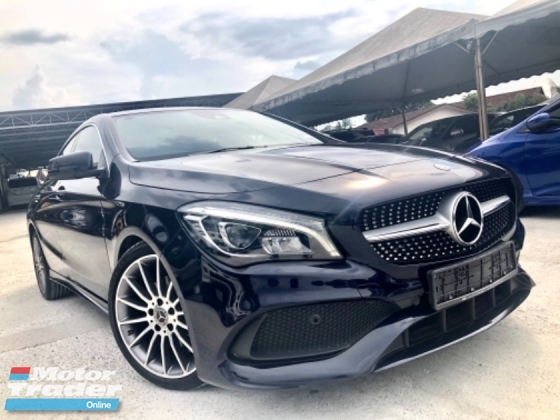 2018 MERCEDES-BENZ CLA 200 1.6 AMG (A) mileage 6km UNDER WARRANTY MERCEDES BENZ