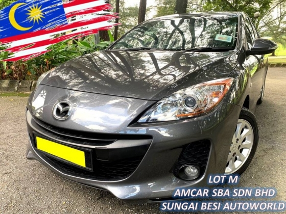 2012 MAZDA 3 SPORT 1.6 (A) NEW FACE LIFT 1 OWNER