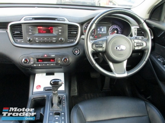 2017 KIA SORENTO 2.2 Diesel AWD (A) FullServicesRecord UnderWarranty