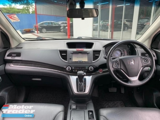 2016 HONDA CR-V 2.4 4WD PREMIUM KEYLESS LEATHER SEAT 1 OWNER LOW MILEAGE