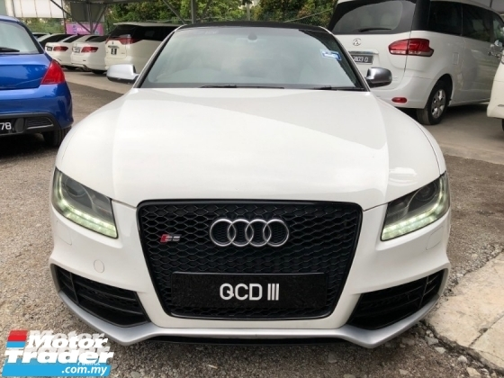 2010 AUDI S5 3.0 V6 (A) ORI BREMBO AND NICE NUMBER 111