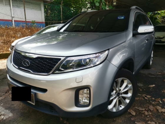 2014 KIA SORENTO 2014 KIA SORENTO 2.4 (A) FULL SERVICE RECORD  KEYLESS PUSH STARS  7 FULL LEATHER SEAT PANAROMIC ROOF