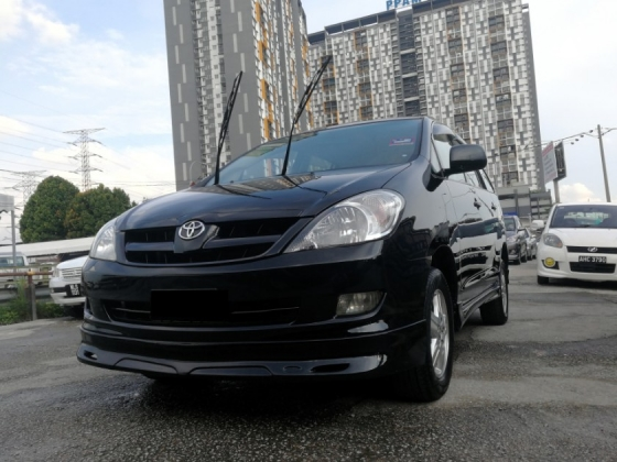 2009 TOYOTA INNOVA 2.0E (AT) CCRIS AKPK CAN LOAN ** BLACKLIST SAA CAN LOAN ** CTOS PTPTN CAN LOAN **