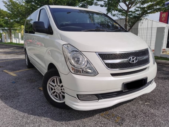 2011 HYUNDAI GRAND STAREX 2.5 ROYAL PREMIUM(A)9 SEAT WITH LEATHER