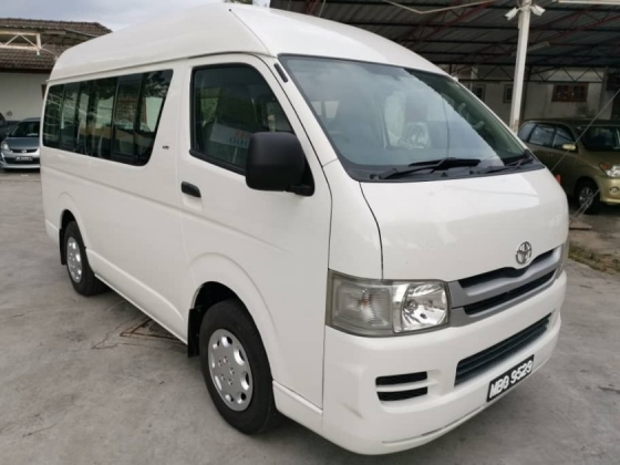 2008 TOYOTA HIACE 2.7 (M) - One Careful Owner