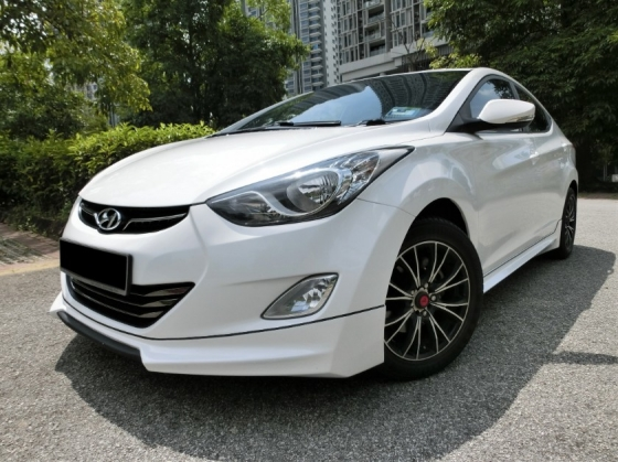 2012 HYUNDAI ELANTRA 1.8GLS (A) F-LOAN / PUSH START / SUN ROOF / LEATHER SEAT / LIKE NEW