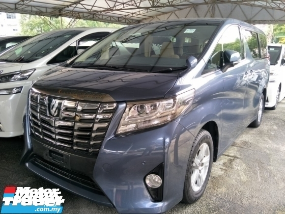 2016 TOYOTA ALPHARD 2.5 8 SEATER 360 SURROUND CAMERA POWER BOOT 2 POWER DOOR PUSH START BUTTON KEYLESS FREE WARRANTY