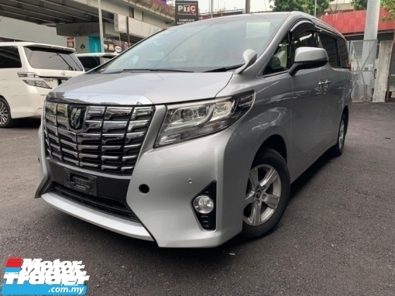 2016 TOYOTA ALPHARD 2.5 X SPEC PRE CRASH 2 POWER DOOR 8 SEATS UNREG