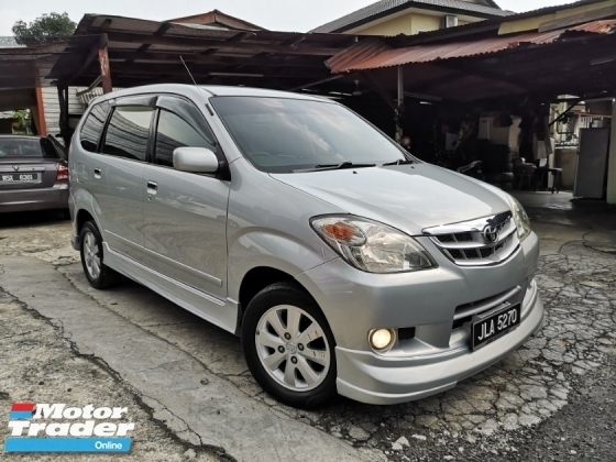 2008 TOYOTA AVANZA 1.5 G Facelift (A) TipTopCondition Loan 6 Year