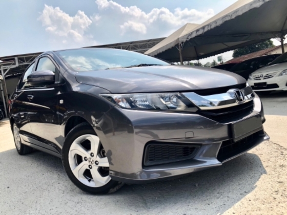 2016 HONDA CITY 1.5 S+ PLUS (A) FACELIFT SUPER LOW MILEAGE