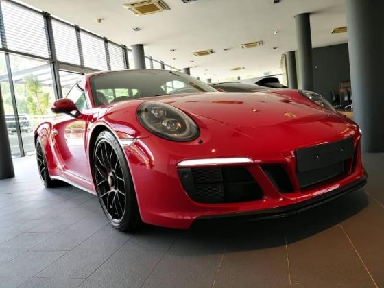 2017 PORSCHE 911 CARRERA GTS 3.0 Porsche UK Approved Sport Design Pkg