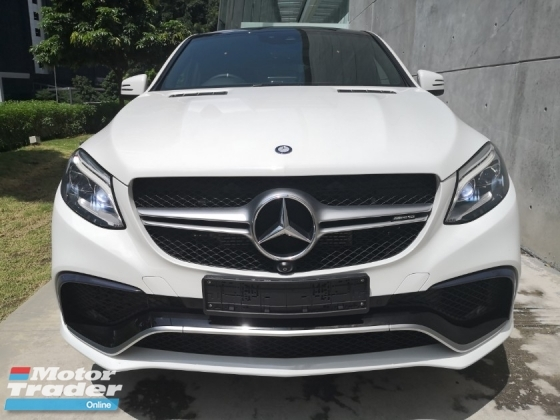 2015 MERCEDES-BENZ GLE 63S 5.5 AMG 4MATIC UNREGISTERED