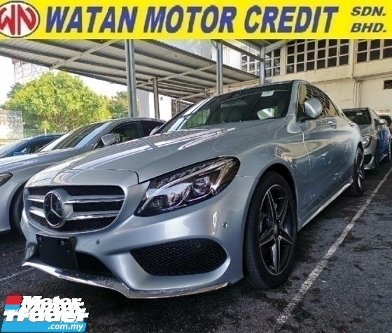 2016 MERCEDES-BENZ C-CLASS 200 AMG 2.0 Unregister 1 YEAR WARRANTY