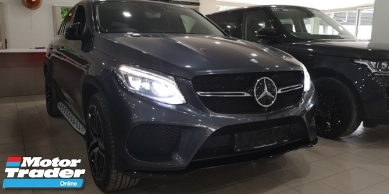 2016 MERCEDES-BENZ GLE 450 4MATIC 3.0 COUPE / PREMIUM PLUS SPEC / TIPTOP CONDITION FROM UK / READY STOCK NO NEED WAIT