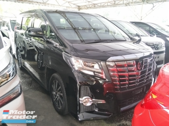 2016 TOYOTA ALPHARD 2.5 SA SUNROOF 360 SURROUND CAMERA POWER BOOT AUTO CRUISE CONTROL SEATS COVER FREE WARRANTY