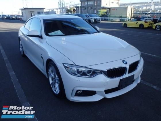 2015 BMW 4 SERIES 420i MSport Coupe UNREGISTER Japan Spec LOW INTEREST 2.XX%