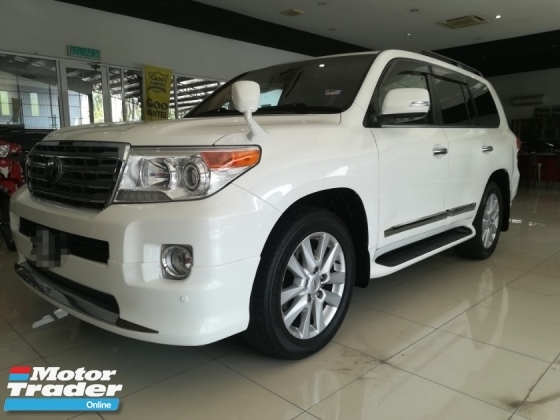 2013 TOYOTA LAND CRUISER 4.6 ZX FACELIFTED FULL SPEC HOME THEATER