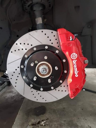 BREMBO 18Z 6 Pot Front Caliper For Any Car Performance Part > Brake System