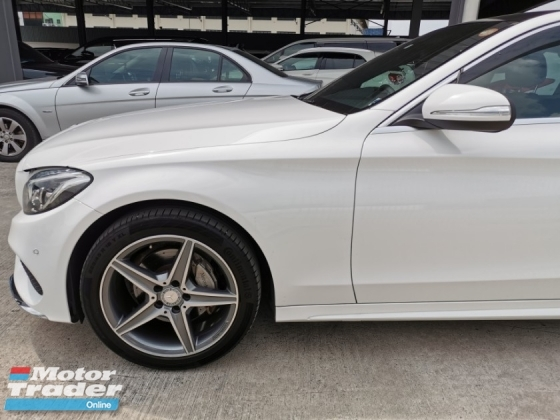 2014 MERCEDES-BENZ C-CLASS C200 AMG PREMIUM PACKAGE