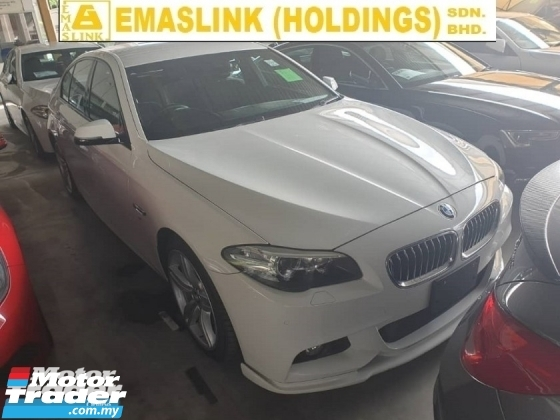 2015 BMW 5 SERIES 520i M Sport Japan Spec Local AP Unreg
