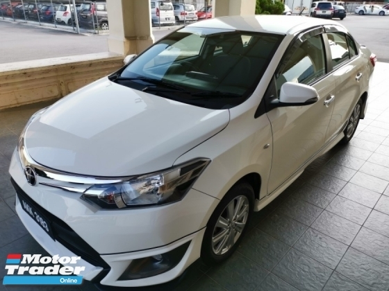 2016 TOYOTA VIOS 1.5J (AT) - TRD Bodykit / True Year Made / Push Start / DVD with Reverse Camera