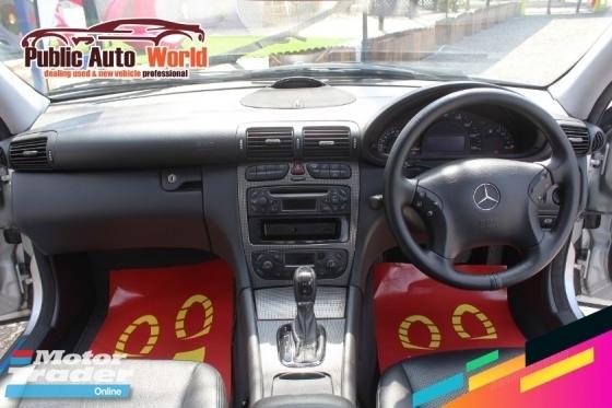 2005 MERCEDES-BENZ CLK Mercedes Benz C200 K SPORTS 1.8 (A)SUNROOF LEATHER