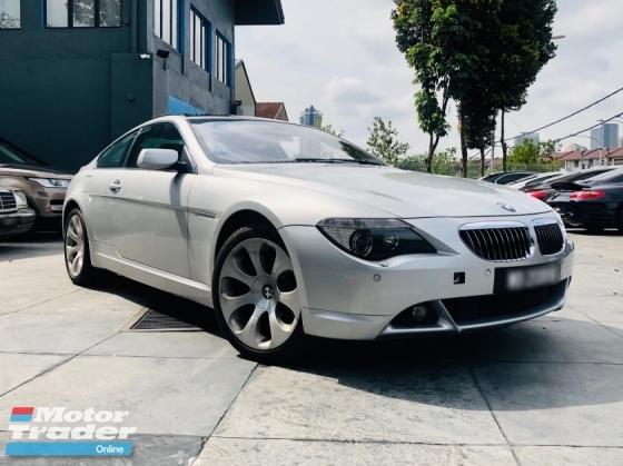 2004 BMW 6 SERIES 645CI (E63) 4.4 V8 FROM BMW MALAYSIA