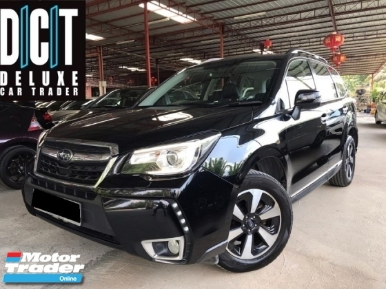 2017 SUBARU FORESTER 2.0iP - PLATINUM SELECTION HIGH SPEC POWER BOOT LEATHER SEAT HD REVERSE CAMERA NAVI