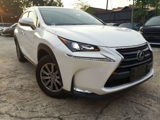 2014 LEXUS NX 200t 2.0 SUV RED INTERIOR/PRE CRASH/POWER BOOT UNREG