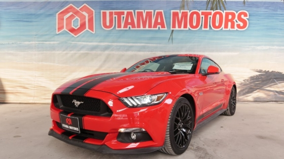 2018 FORD MUSTANG 5.0 GT SHAKER PREMIUM SOUND PADDLE SHIFT MERDEKA SALE