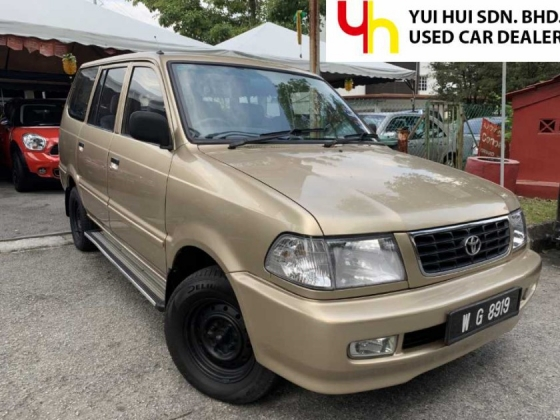 2001 TOYOTA UNSER 1.8 GLI FACELIFT (M) ONE OWNER