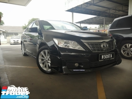 2013 TOYOTA CAMRY 2.5 G SELECTION