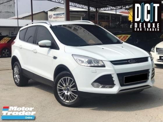 2015 FORD KUGA TITANIUM ECOBOOST PREMIUM POWERBOOT HIGH SPEC ONE OWNER LOW MILEAGE TIPTOP CONDITION LIKE NEW