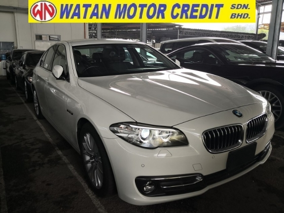 2016 BMW 5 SERIES 520i 2.0cc LUXURY TWIN POWER TURBO