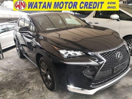 2016 LEXUS NX NX200t 2.0cc TURBO F SPORT PAN ROOF PRE CRASH JAPAN UNREG