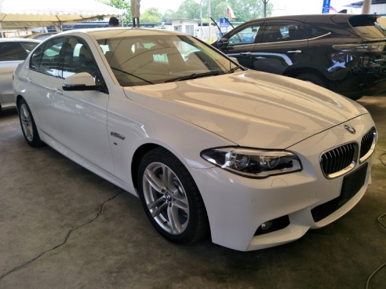 2016 BMW 5 SERIES 2.0 TWIN POWER TURBO MEMORY SEATS REVERS CAMERA LANE ASSIST SYSTEM FREE WARRANTY