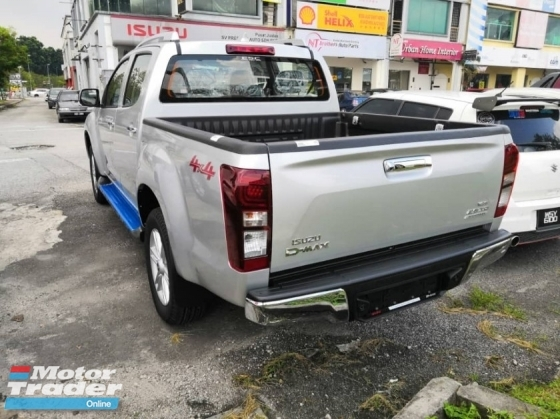 2019 ISUZU D-MAX 2.5L 4X4 DOUBLE CAB - Pre Register Unit