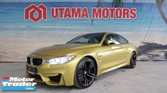 2015 BMW M4 3.0 TWIN POWER TURBO HEAD UP DISPLAY OPAL WHITE INTERIOR PROMO MAX LOAN FAST APPROVAL