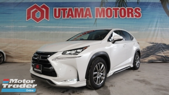 2015 LEXUS NX F-SPORT SUNROOF BODY KIT PRE CRASH MERDEKA SALE