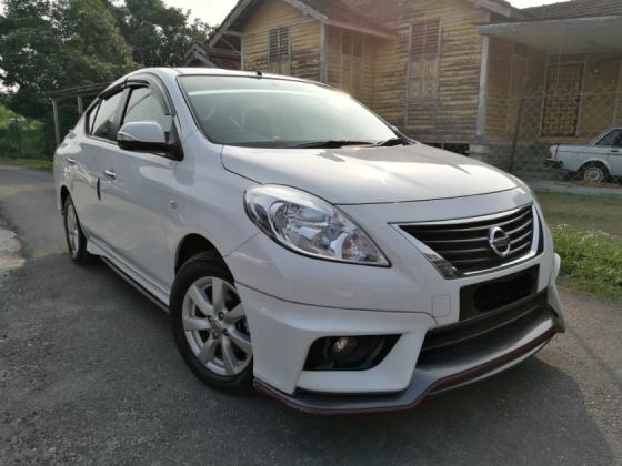 2015 NISSAN ALMERA 2015 Nissan ALMERA 1.5 VL (A) NISMO FACELIFT