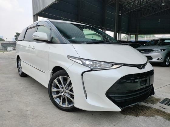 2018 TOYOTA ESTIMA 2018 Toyota Estima 2.4 Aeras Facelift Pre Crash 2 Power Door 7 Seater Unregister for sale